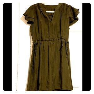 Dresses & Skirts - Olive green dress